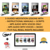Thumbnail Guided Meditation Audio Collection + MP3 Music and Scripts