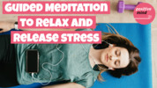 Thumbnail Guided meditation to help you relax and release stress